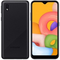 Samsung A01 Core 16GB Dual ,Black