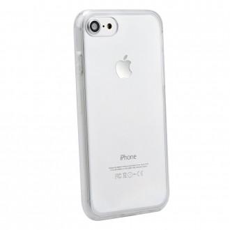 """Силиконов калъф 360"""" за iPhone 7 / iPhone 8 прозрачен"""