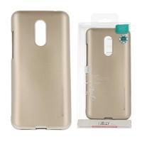 Силиконов калъф Jelly Case за Xiaomi Redmi 5 Plus Златен