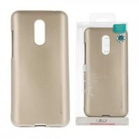Силиконов калъф Jelly Case за Xiaomi Redmi Note 5 Златен