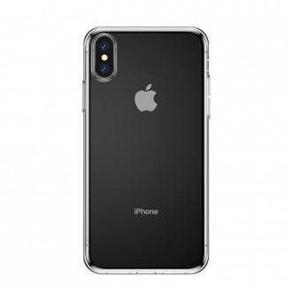 Силиконов калъф кейс Baseus Simplicity Gel TPU Case за iPhone XS Max , прозрачен