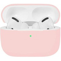 Силиконов калъф кейс Blueo за слушалки Air Pods Pro, светло розово
