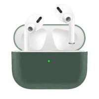 Силиконов калъф кейс Blueo за слушалки Air Pods Pro, зелен