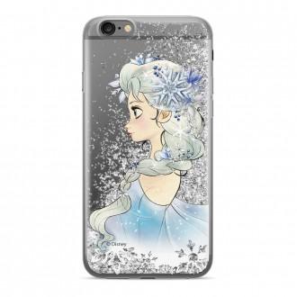 Силиконов калъф кейс Disney Elsa за Samsung J4 Plus ,сив