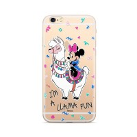 Силиконов калъф кейс Disney за iPhone XS / iPhone X, Disney Minnie 049