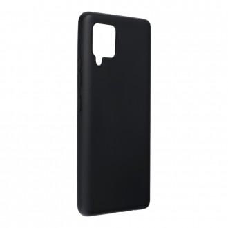 Силиконов калъф кейс Forcell Soft за Samsung A42 5G, Черен