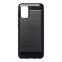 Силиконов калъф кейс Forecell Carbon за Samsung A02s, черен