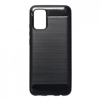 Силиконов калъф кейс Forecell Carbon за Samsung A72 5G, черен
