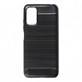 Силиконов калъф кейс Forecell Carbon за Xiaomi Redmi Note 10 5G / Poco M3 Pro, черен