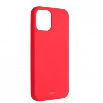 Силиконов калъф кейс Jelly Roar Colorful за iPhone 12 Pro Max, Peach Pink