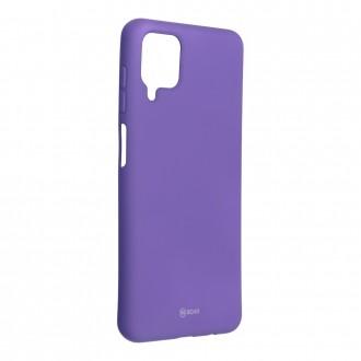 Силиконов калъф кейс Jelly Roar Colorful за Samsung A12, лилав