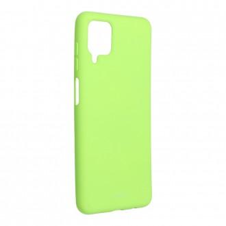 Силиконов калъф кейс Jelly Roar Colorful за Samsung A12, Lime