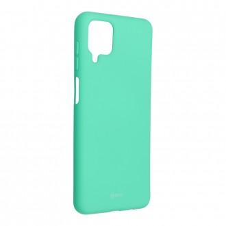 Силиконов калъф кейс Jelly Roar Colorful за Samsung A12, Зелен