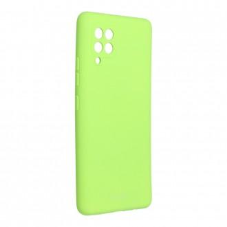 Силиконов калъф кейс Jelly Roar Colorful за Samsung A42 5G, Лайм
