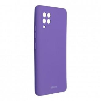 Силиконов калъф кейс Jelly Roar Colorful за Samsung A42 5G, Лилав