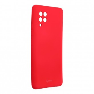 Силиконов калъф кейс Jelly Roar Colorful за Samsung A42 5G, Розов