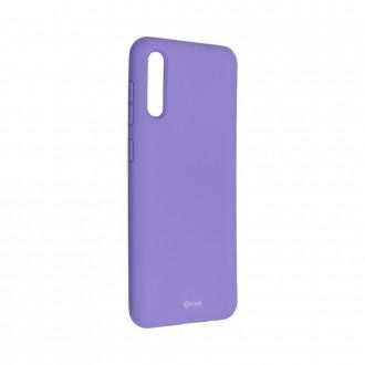 Силиконов калъф кейс Jelly Roar Colorful за Samsung A50 / A30s, Лилав