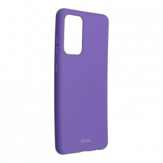 Силиконов калъф кейс Jelly Roar Colorful за Samsung A52 4G / 5G, Лилав