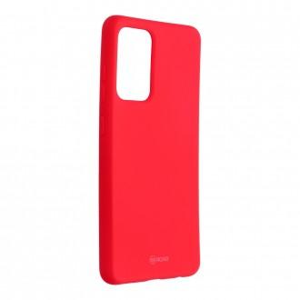 Силиконов калъф кейс Jelly Roar Colorful за Samsung A52 4G / 5G, Розов