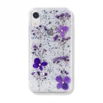 Силиконов калъф кейс Kavaro Gypsophila Series за iPhone XR лилав
