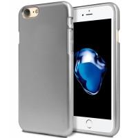 Силиконов калъф кейс Mercury за iPhone 7 Plus / iPhone 8 Plus, сив