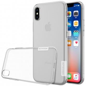 Силиконов калъф кейс Nillkin за IPhone XS / iPhone X прозрачен