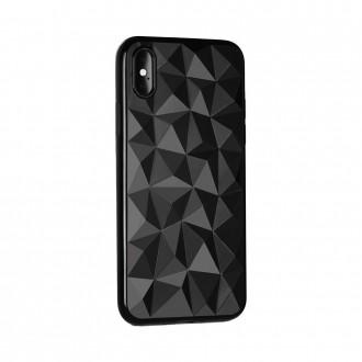 Силиконов калъф кейс Prism за Samsung A10 черен