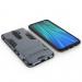 Силиконов калъф кейс Ring Armor Kickstand за Xiaomi Redmi Note 8 Pro, син 3