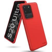 Силиконов калъф кейс Ringke AIR S ,За Samsung S20 Ultra ,червен
