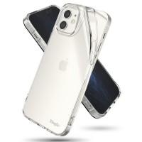 Силиконов калъф кейс Ringke Air, За iPhone 12 mini, Прозрачен