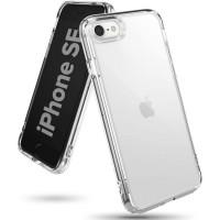Силиконов калъф кейс Ringke FUSION X, За iPhone SE 2020 / iPhone 8 / iPhone 7, Прозрачен