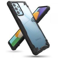 Силиконов калъф кейс Ringke FUSION X, За Samsung A52 / A52s ,черен