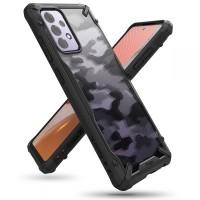 Силиконов калъф кейс Ringke FUSION X, За Samsung A72 ,черен Camo
