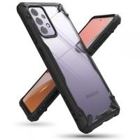Силиконов калъф кейс Ringke FUSION X, За Samsung A72 ,черен