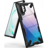 Силиконов калъф кейс Ringke FUSION X ,За Samsung Note 10 Plus ,черен