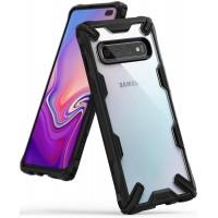 Силиконов калъф кейс Ringke FUSION X ,За Samsung S10 Plus ,черен