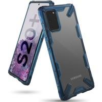 Силиконов калъф кейс Ringke FUSION X ,За Samsung S20 Plus ,Син