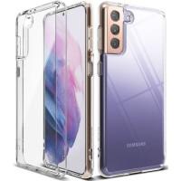 Силиконов калъф кейс Ringke FUSION, За Samsung S21, прозрачен