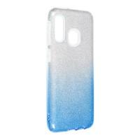 Силиконов калъф кейс Shining за Samsung A20e, син