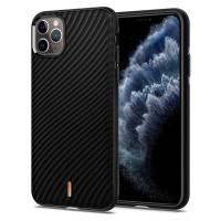 Силиконов калъф кейс Spigen Ciel Wave Shell за iPhone 11 Pro черен