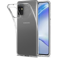 Силиконов калъф кейс Spigen Crystal Clear за Samsung Galaxy  S20 plus, прозрачен