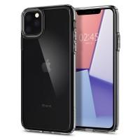 Силиконов калъф кейс Spigen Crystal Hybrid за iPhone 11 Pro прозрачен