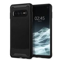 """Силиконов калъф кейс Spigen Hybrid """"NX"""" Galaxy S10 Black"""