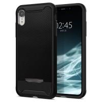 """Силиконов калъф кейс Spigen Hybrid """"NX"""" Iphone XR Black"""