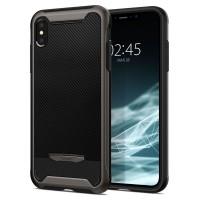 """Силиконов калъф кейс Spigen Hybrid """"NX"""" Iphone X/Xs Gunmetal"""