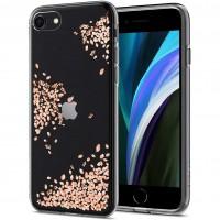 Силиконов калъф кейс SPIGEN Liquid Crystal Blossom за iPhone 7 / iPhone 8 /SE 2020