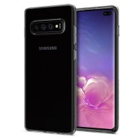 Силиконов калъф кейс Spigen Liquid Crystal Clear за Samsung S10 Plus
