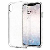 Силиконов калъф кейс Spigen Liquid Crystal Glitter за iPhone XR