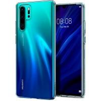 Силиконов калъф кейс Spigen Liquid Crystal Huawei P30 Pro, прозрачен
