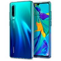 Силиконов калъф кейс Spigen Liquid Crystal Huawei P30, прозрачен